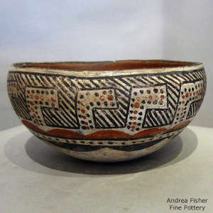 Bowl from an unknown Isleta potter