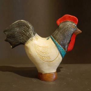 Folk art rooster