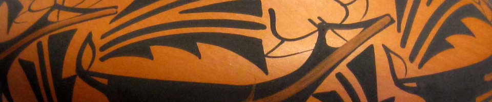 Zuni Pueblo logo image for In the Eyes of the Pot