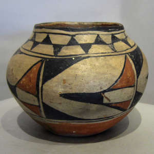 Pot from an unknown Santo Domingo potter