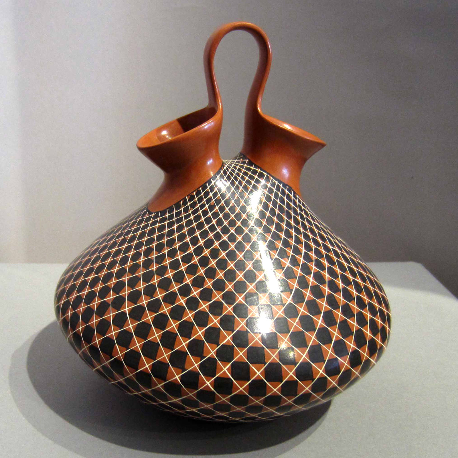 Olga quezada mata ortiz pottery geometric design on a polychrome wedding vase reviewsmspy